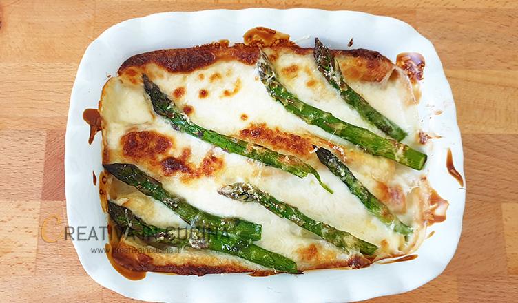 Crespelle con crema di asparagi ricetta di Creativa in cucina
