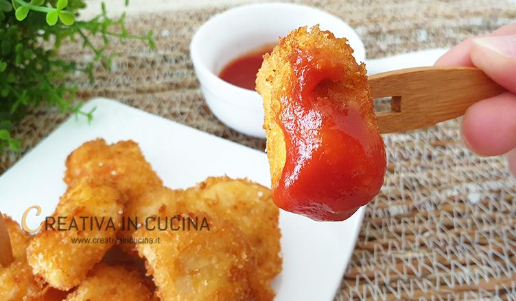 Pepite di pollo ricetta di Creativa in cucina