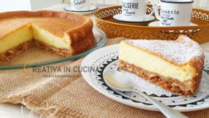 Cheesecake al forno, ricetta facile