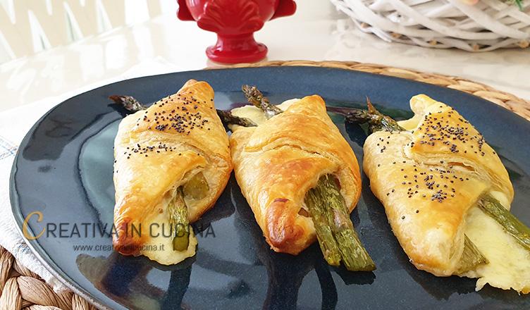 Involtini con asparagi ricetta di Creativa in cucina
