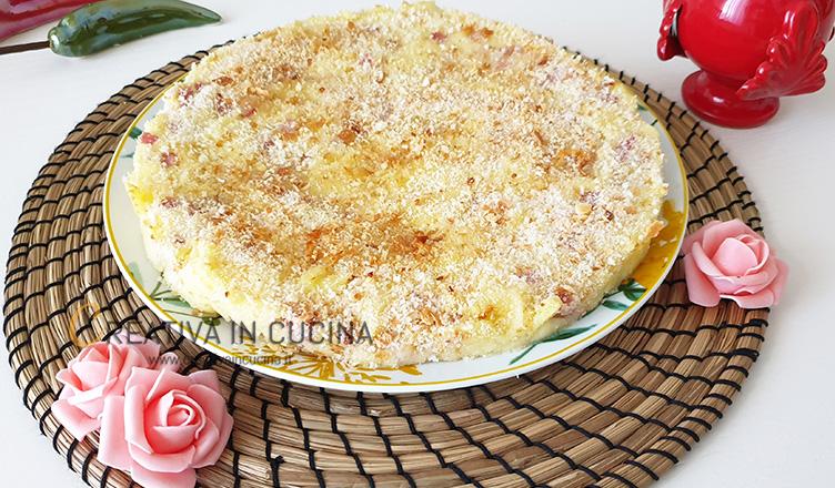 Pizza di patate ricetta di Creativa in cucina