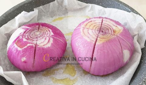 Cipolle rosse piatte al forno ricetta di Creativa in cucina