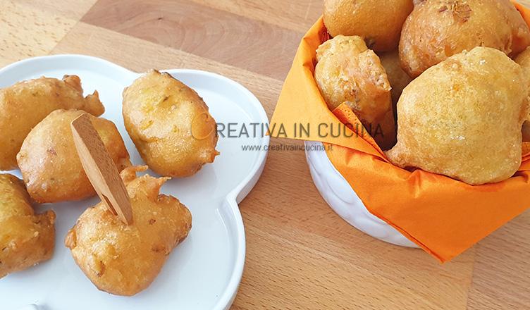 Frittelle di fiori di zucca ricetta di Creativa in cucina