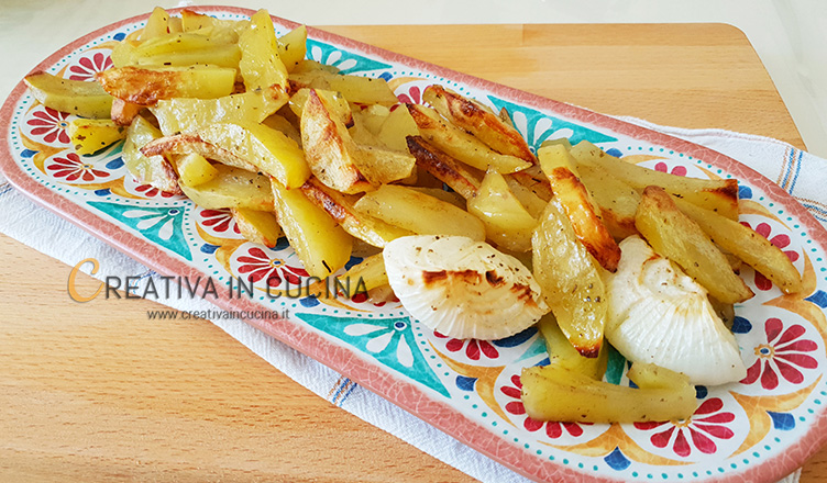Patate al forno ricetta di Creativa in cucina