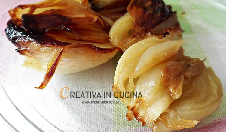 Cipolle bianche piatte al forno ricetta di Creativa in cucina
