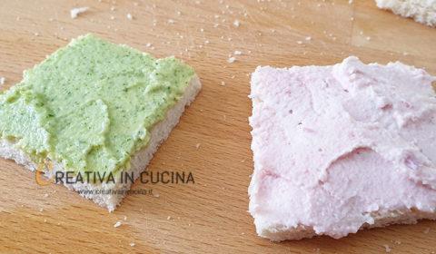 Stella di tramezzini assortiti ricetta di Creativa in cucina