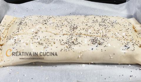 Strudel di cavolfiore e baccalà ricetta di Creativa in cucina