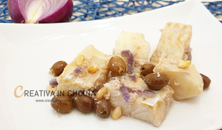 Baccalà in umido ricetta di Creativa in cucina