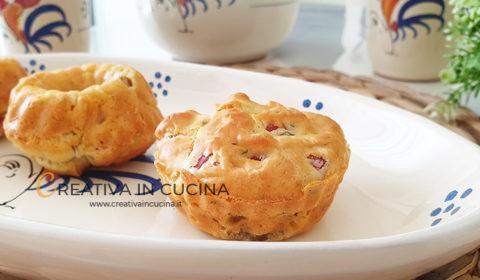 Ciambelline muffin alla boscaiola