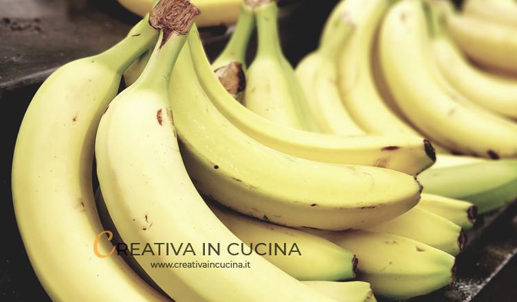 Banane, proprietà e benefici
