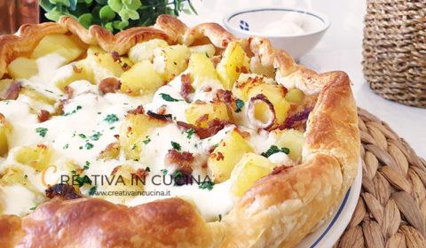 Pizza rustica tonno e patate