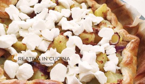 Pizza rustica tonno e patate ricetta di Creativa in cucina