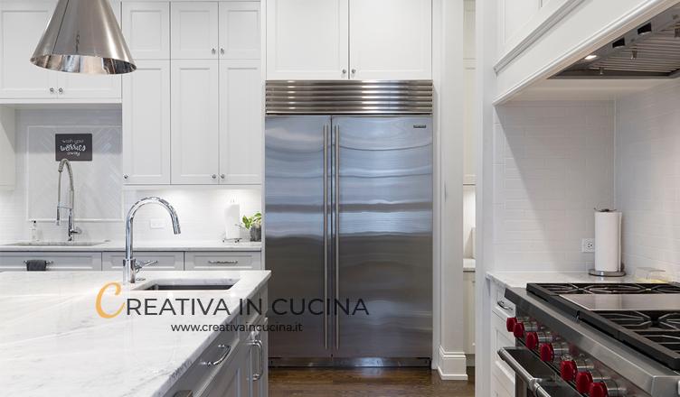 come pulire acciaio creativa in cucina