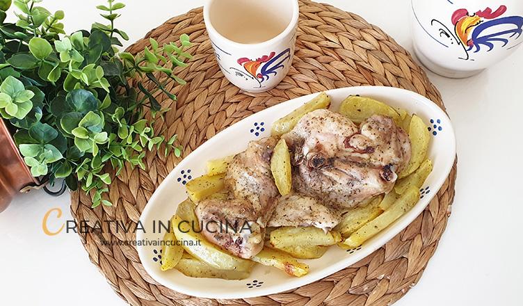 Cosce di pollo a fette arrosto ricetta di Creativa in cucina