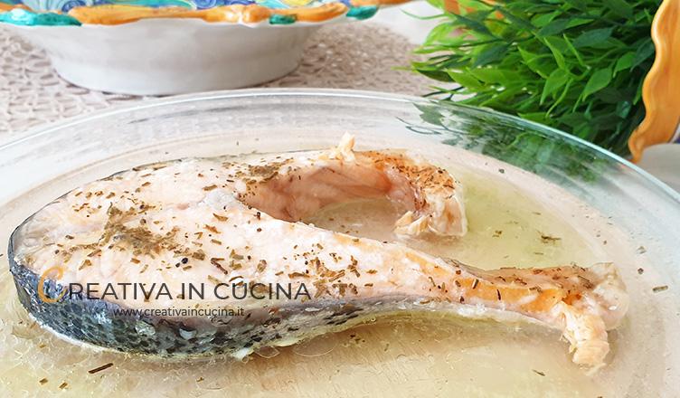 Salmone marinato in forno ricetta di Creativa in cucina