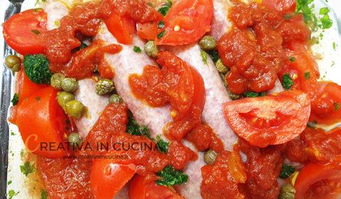 Salsiccia di pollo in forno alla pizzaiola ricetta di Creativa in cucina