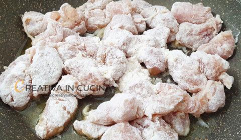 Bocconcini di pollo in padella ricetta di Creativa in cucina