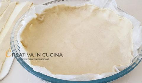 Crostata rustica di zucchine ricetta di Creativa in cucina