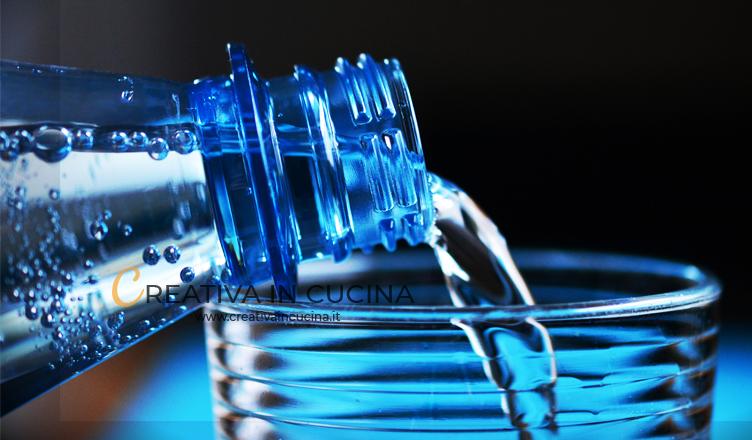 Come scegliere l'acqua al supermercato
