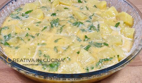 Frittata di patate al forno ricetta di Creativa in cucina