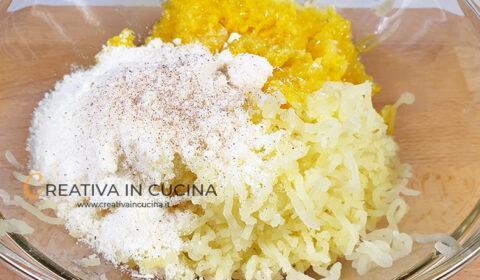 Rotolo di pasta sfoglia vegetariano ricetta di Creativa in cucina