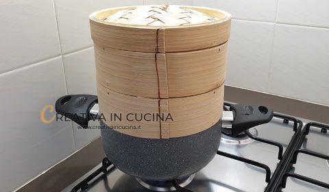 Coda di rospo al vapore ricetta di Creativa in cucina