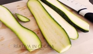 Penne zucchine e gamberetti con panna
