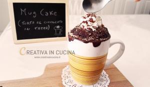 mug cake ricetta di Creativaincucina